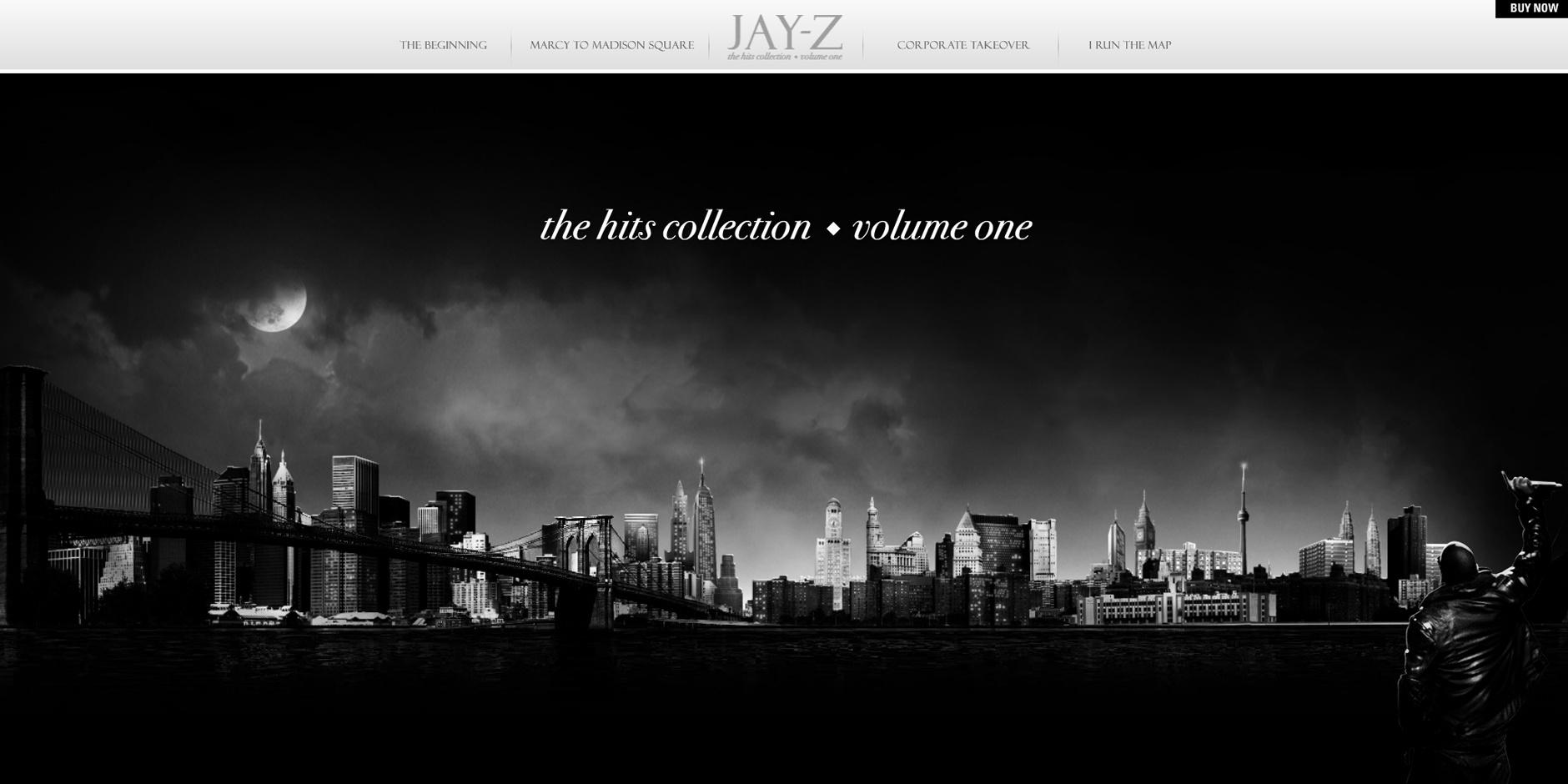 Webby Award Nominee - Jay-Z Hits Collection Vol. 1