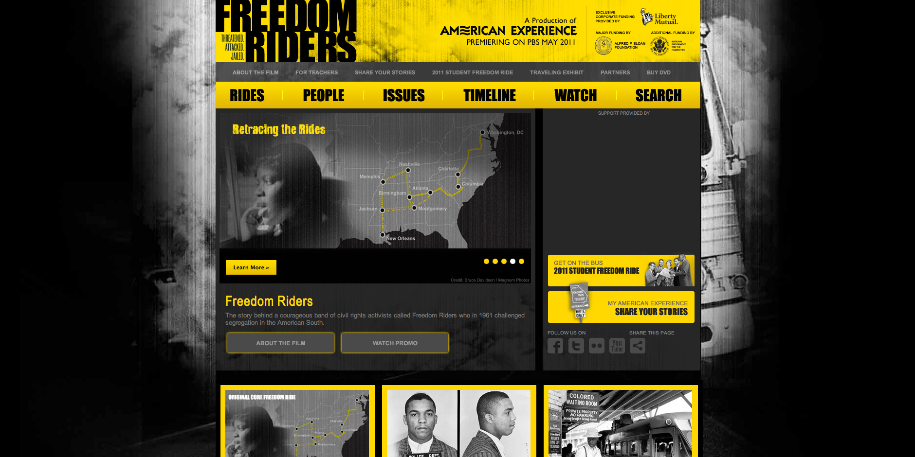 Nominee - Freedom Riders