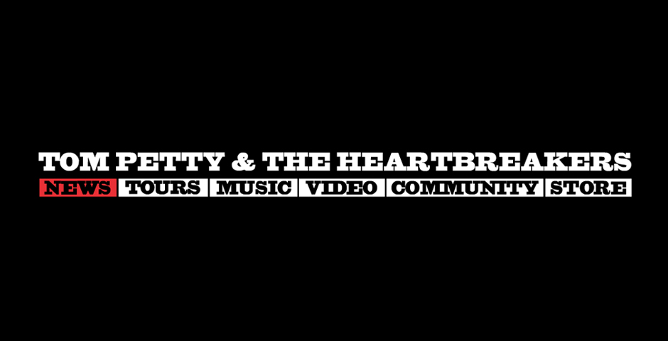 - Tom Petty & The Heartbreakers Official Website