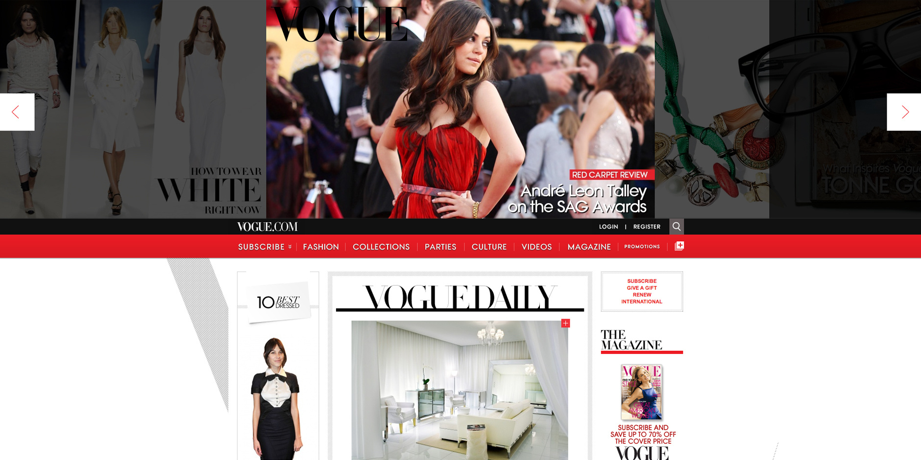 2011 Webby Winner - Vogue.com