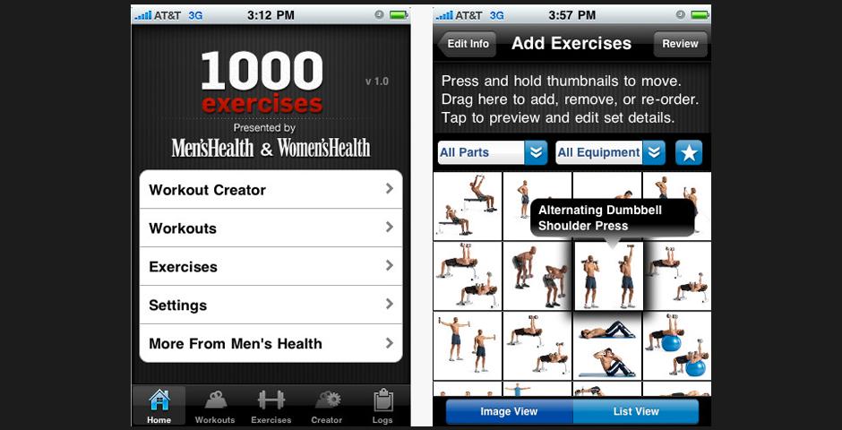 Nominee - Men's Health & Women's Health 1,000 Exercises