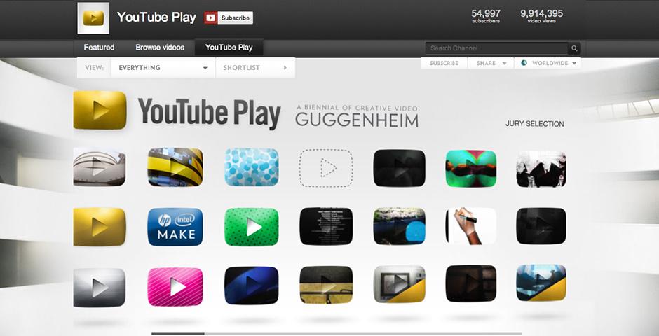 2011 Webby Winner - YouTube Play