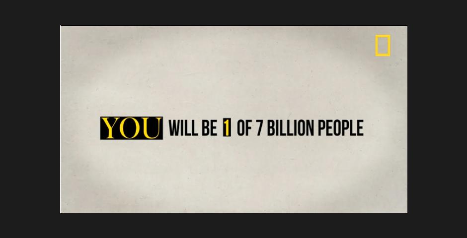 Nominee - 7 billion video