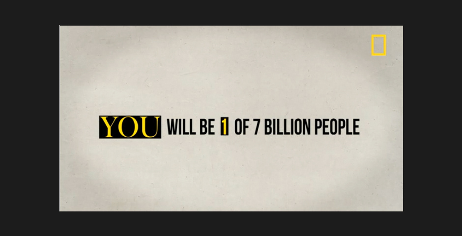 Webby Award Nominee - 7 billion video