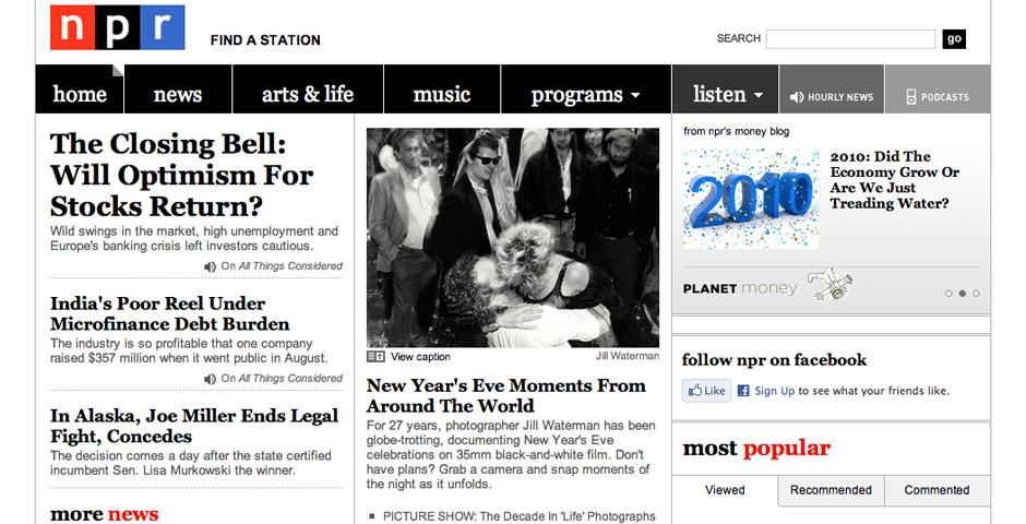 People's Voice / Webby Award Winner - NPR