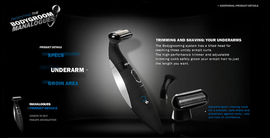 Nominee - Bodygroom Manalogues