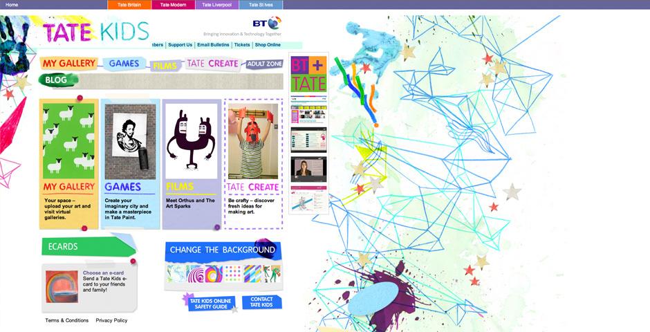 2009 Webby Winner - Tate Kids