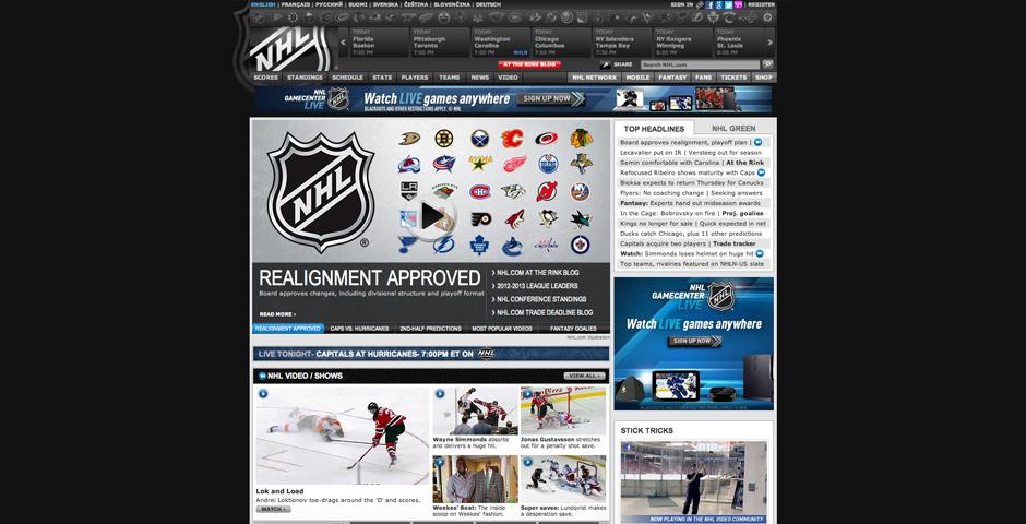 Nominee - NHL.com