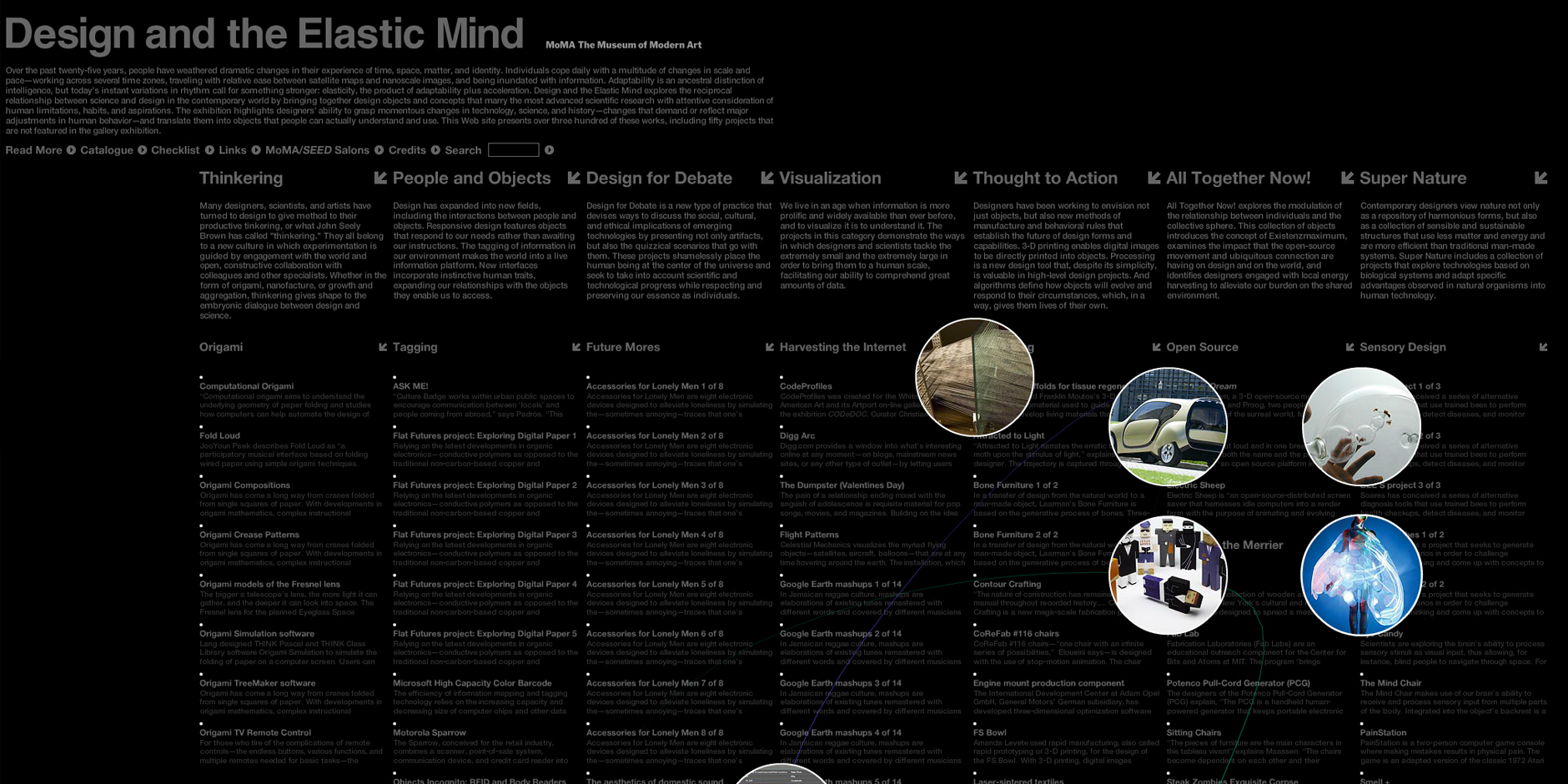 Nominee - Design and the Elastic Mind
