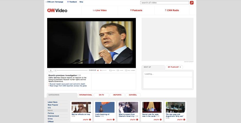 Nominee - CNN.com Video