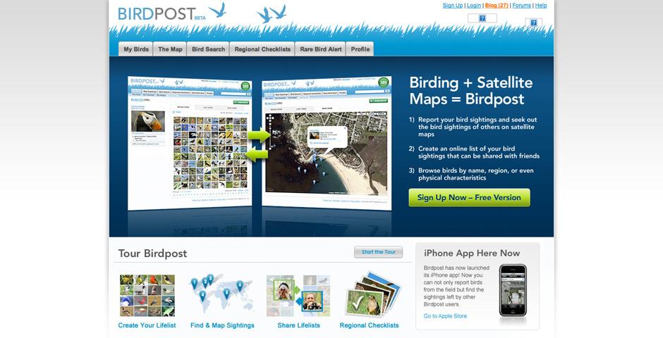 Webby Award Nominee - Birdpost