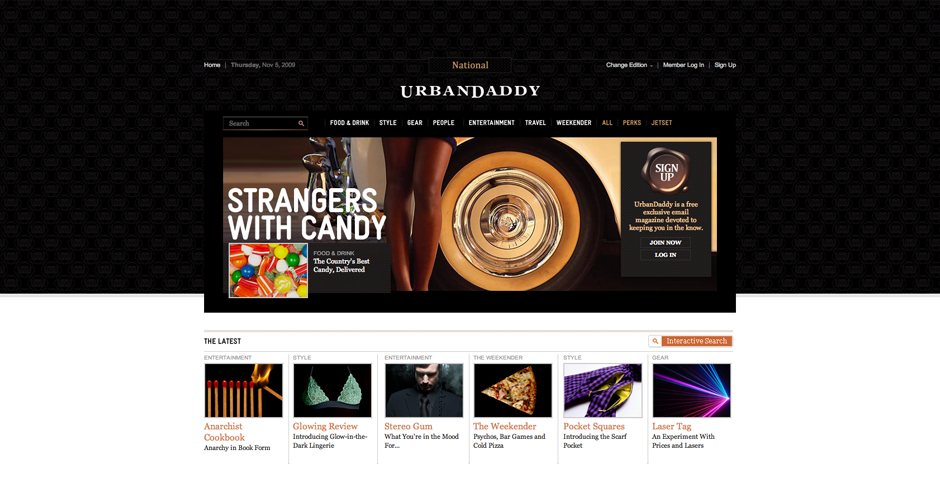 Nominee - UrbanDaddy