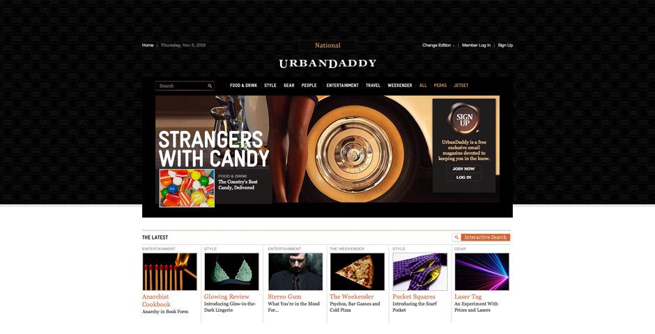 Webby Award Nominee - UrbanDaddy