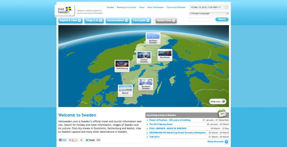Nominee - VisitSweden