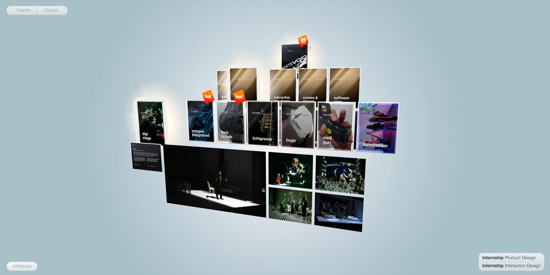 - WHITEvoid online portfolio