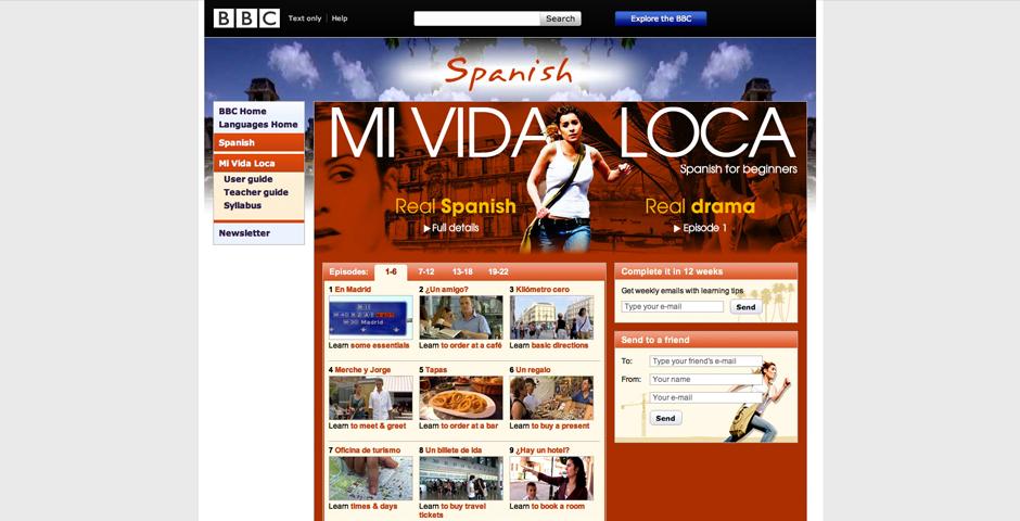 Nominee - Mi Vida Loca, Spanish for Beginners