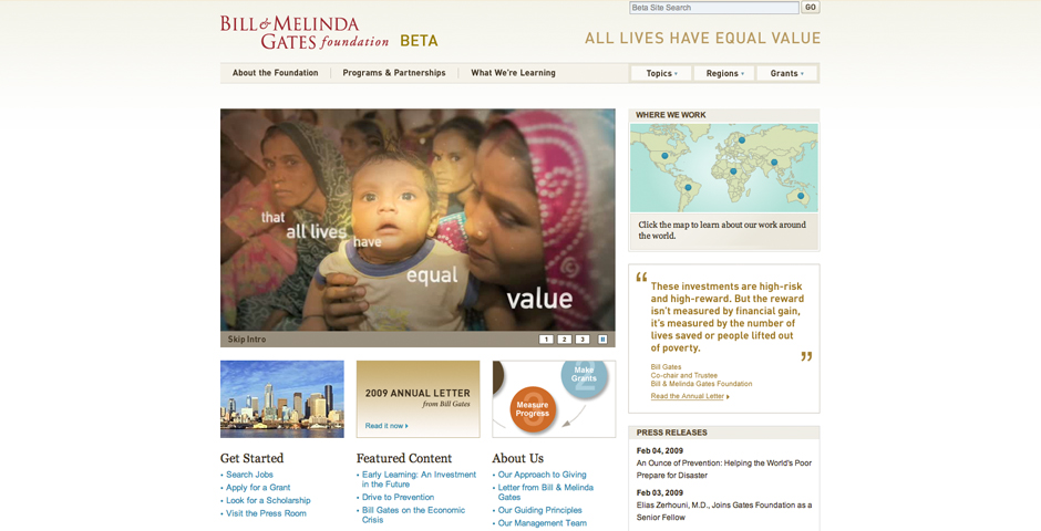 Nominee - Bill & Melinda Gates Foundation
