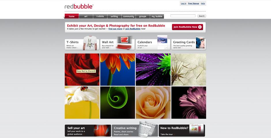 Webby Award Nominee - RedBubble