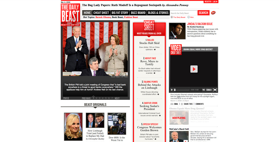 Webby Award Nominee - The Daily Beast