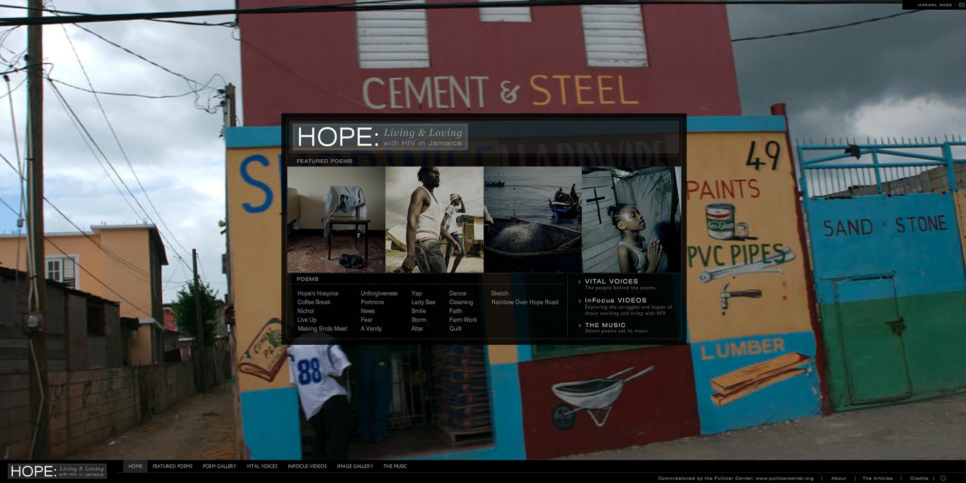 Webby Award Nominee - Live Hope Love