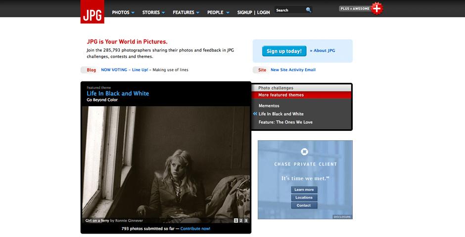 Webby Award Nominee - JPG Magazine