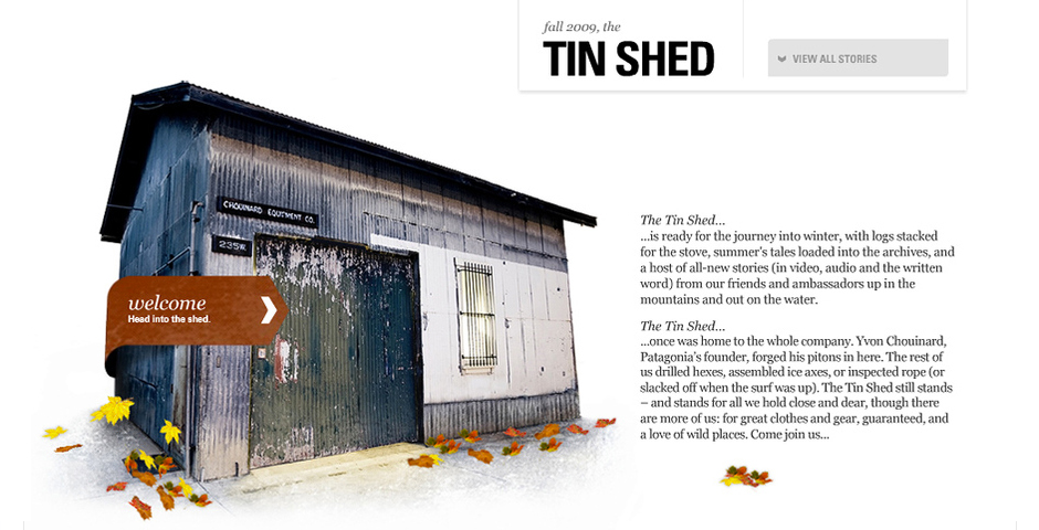 Nominee - Tin Shed