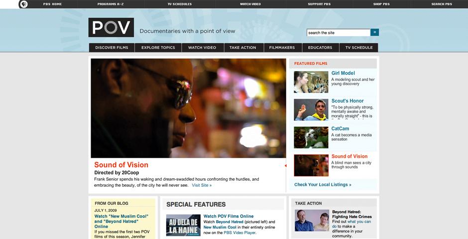 Nominee - P.O.V. /American Documentary, Inc.