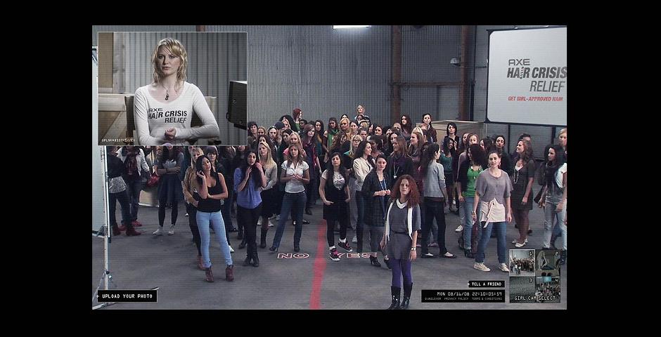 2009 Webby Winner - AXE 100 Girls