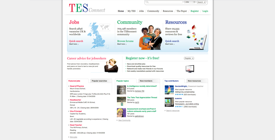 Nominee - TES Connect