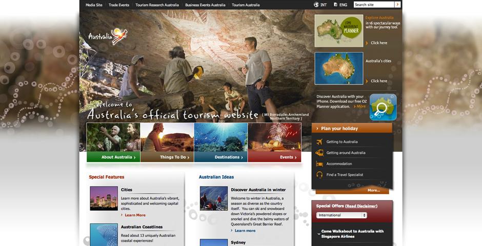 Honoree - Tourism Australia's Consumer Site – australia.com
