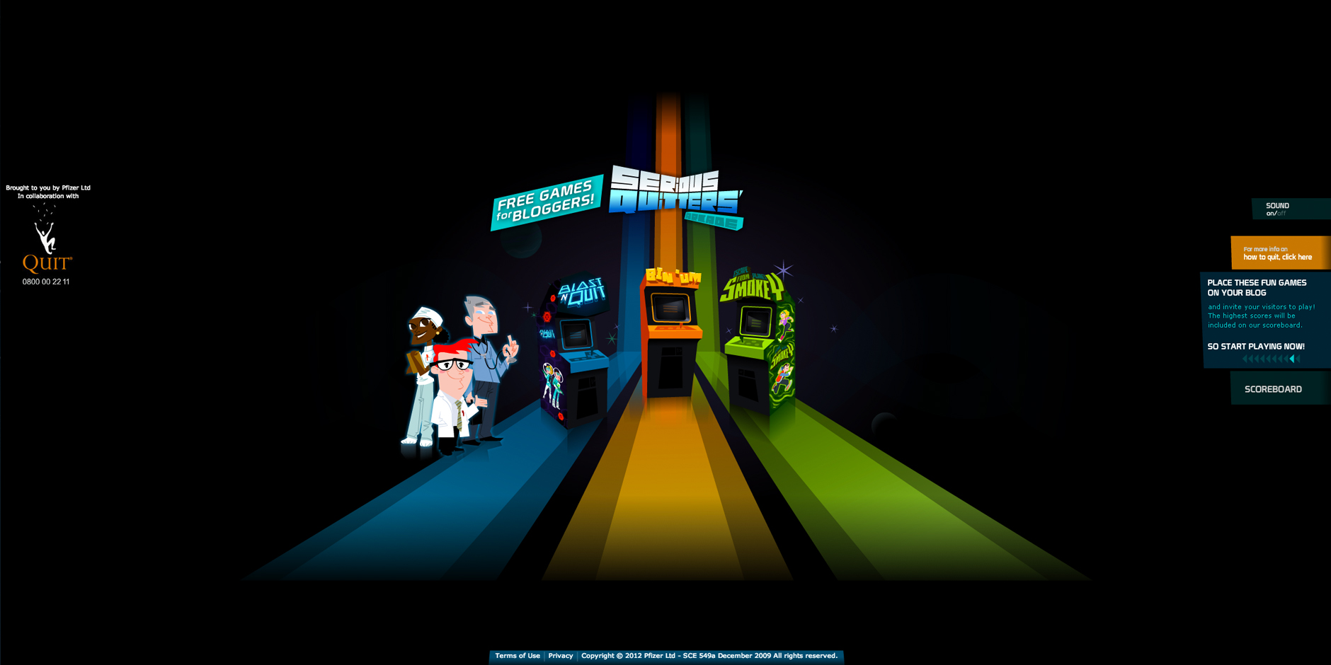 Nominee - Quitters Arcade