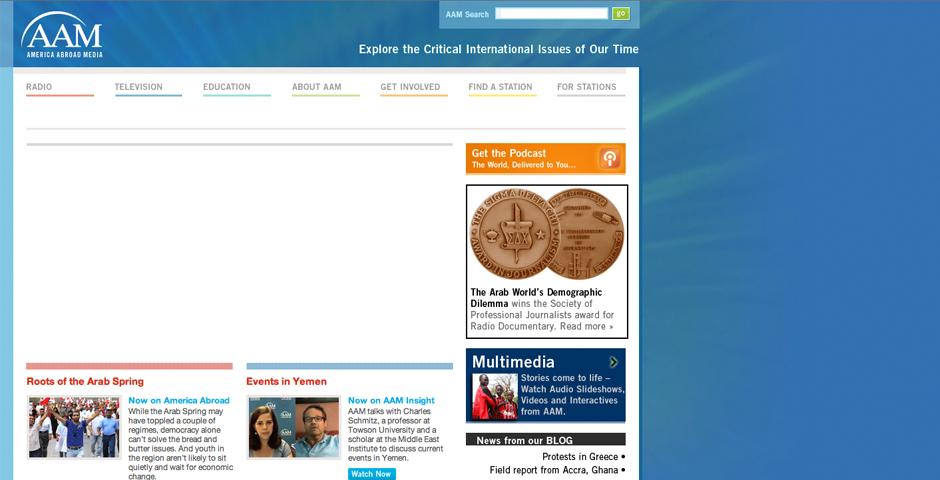 Nominee - America Abroad Media
