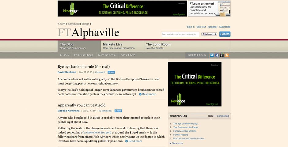 People's Voice - FT Alphaville
