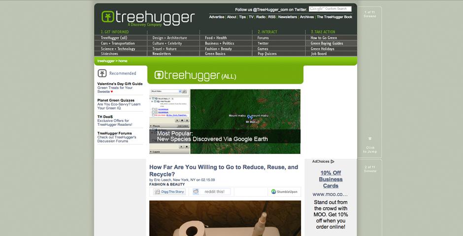 Nominee - TreeHugger