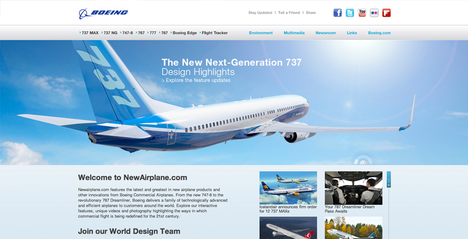 Nominee - Boeing's New Airplane