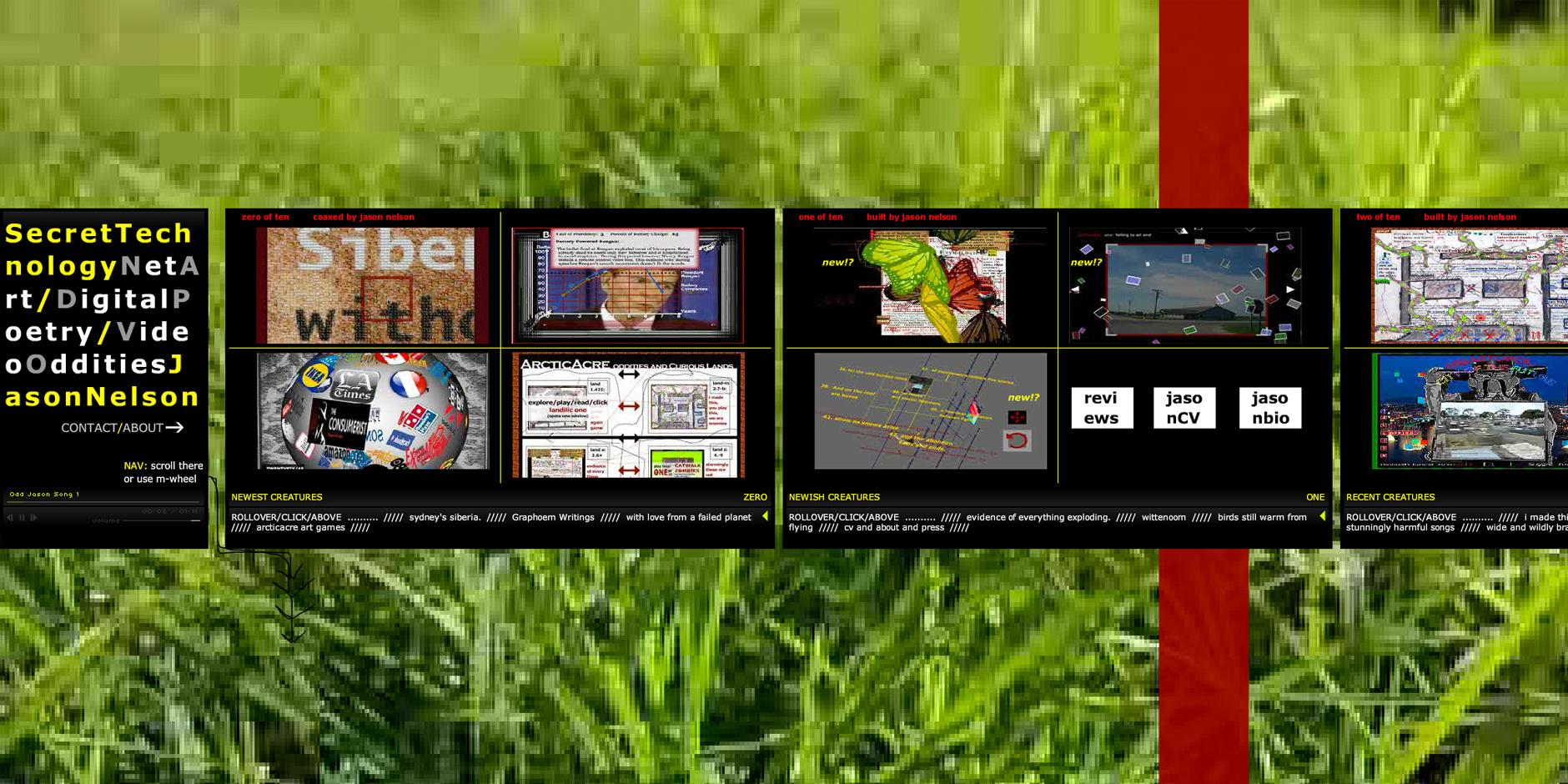 2009 Webby Winner - Jason Nelson\'s Digital Oddities