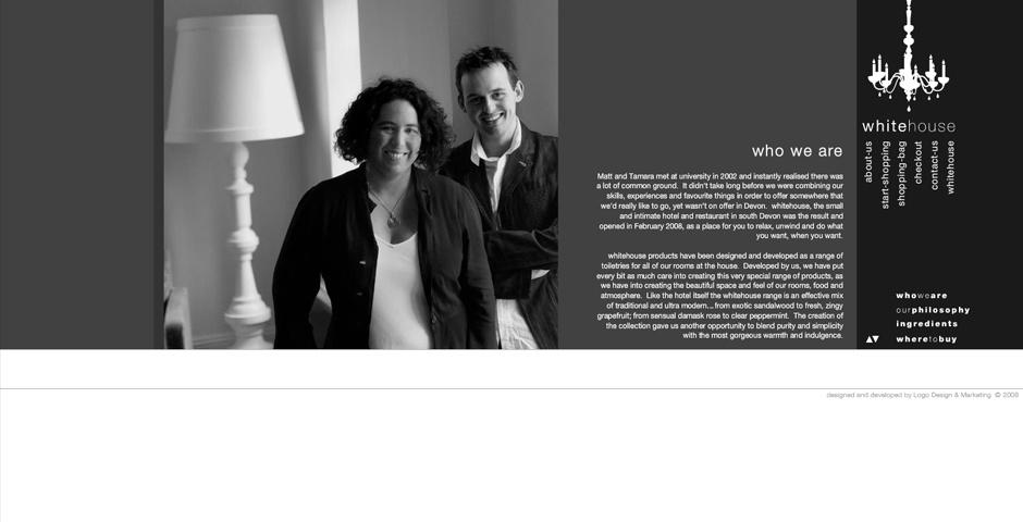 Webby Award Nominee - White Wash House