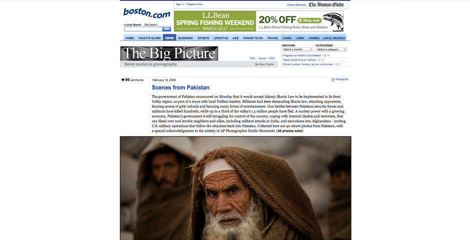 2009 Webby Winner - The Big Picture