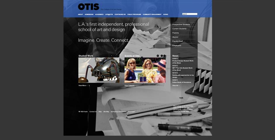 - Otis College of Art and Design