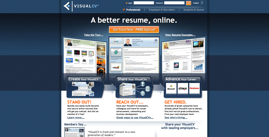 Nominee - VisualCV.com