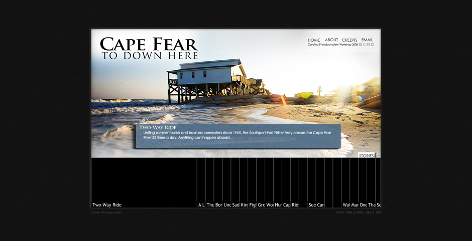 Nominee - Cape Fear to Down Here