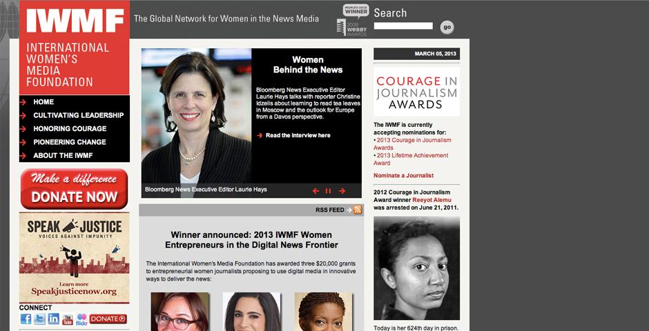 People's Voice - International Women's Media Foundation