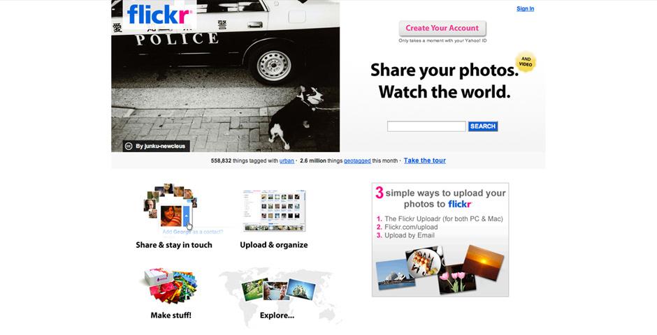 2009 Webby Winner - Flickr