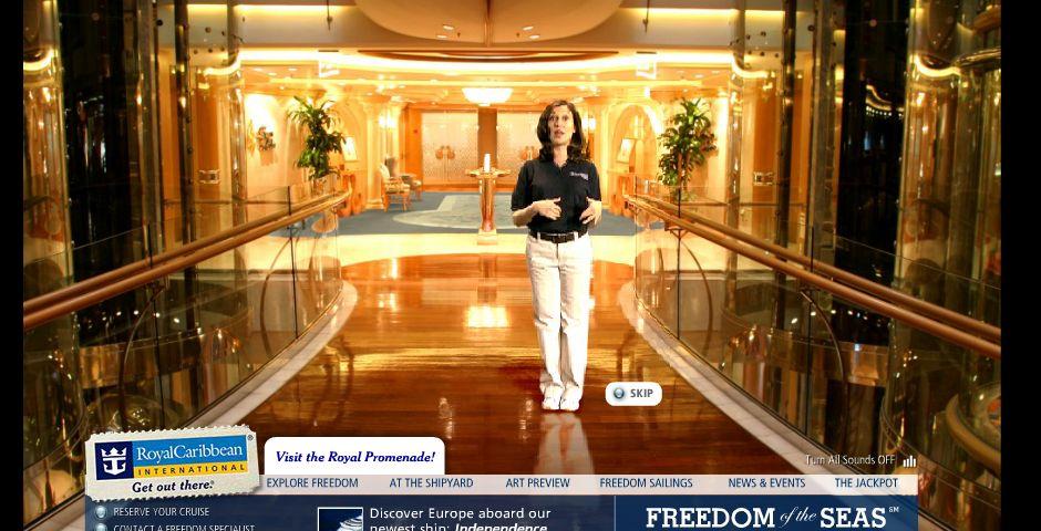 Webby Award Winner - Freedom of the Seas