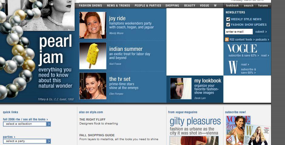 People's Voice / Webby Award Winner - Style.com