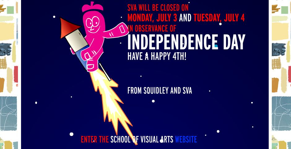 Webby Award Winner - School of Visual Arts Web site