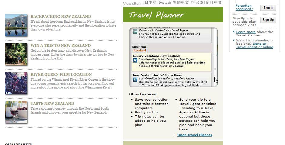 Webby Award Winner - www.newzealand.com/travel