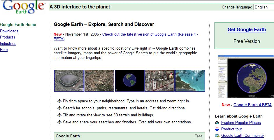 People's Voice / Webby Award Winner - Google Earth