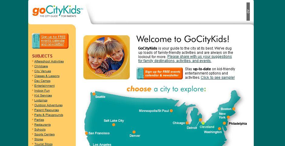 Webby Award Winner - GoCityKids