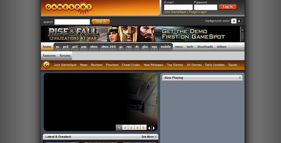2006 Webby Winner - GameSpot